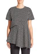 Marni Asymmetrical Printed Top