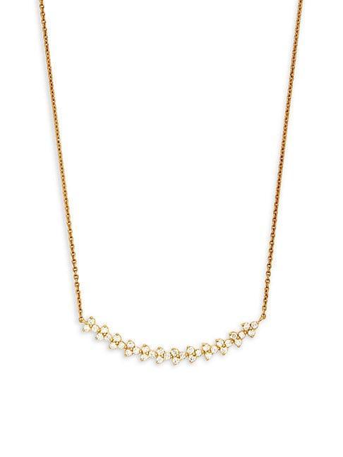 Hueb Reverie 18k Yellow Gold Diamond Necklace