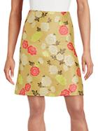 Etro Floral A-line Skirt