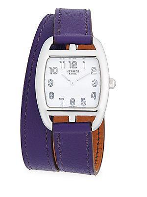 Herm S Vintage Purple Cape Cod Gm Watch