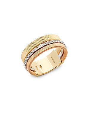 Marco Bicego Diamond And 18k Gold Ring