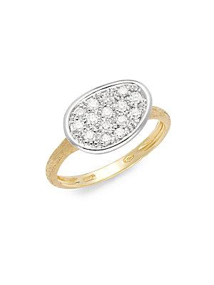 Marco Bicego Lunaria Diamond & 18k Gold Ring