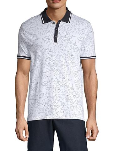 Nhp Printed Cotton Polo