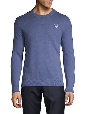 Saks Fifth Avenue Deer Motif Sweater