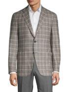 Canali Regular-fit Wool Plaid Sport Coat
