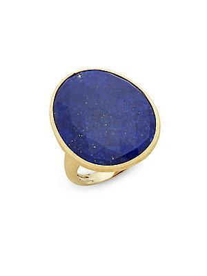 Marco Bicego 18k Yelow Gold & Lapis Ring