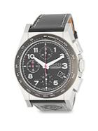 Gucci Stainless Steel Automatic Swiss Strap Watch