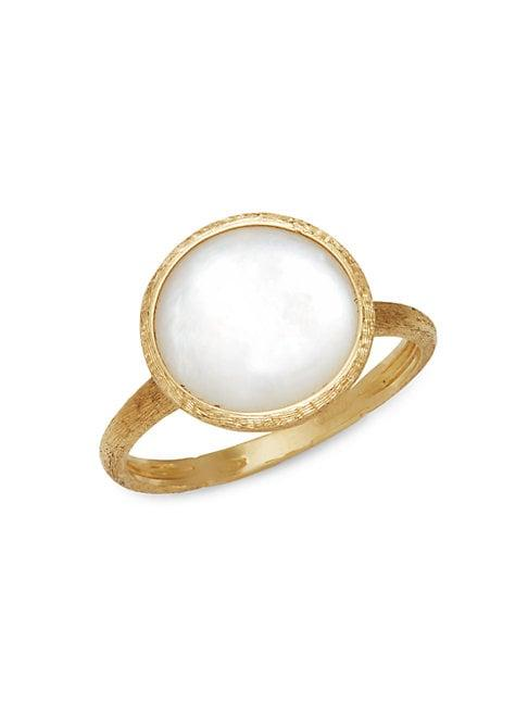 Marco Bicego Jaipur 18k Yellow Gold & Mother-of-pearl Ring