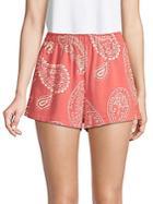 Wildfox Paisley Cotton Shorts