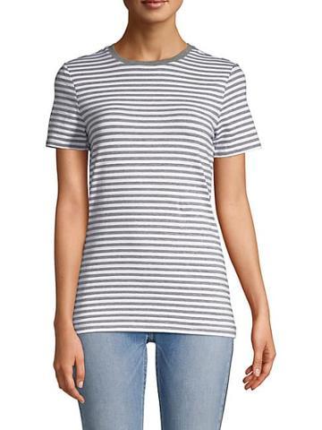 Saks Fifth Avenue Striped T-shirt