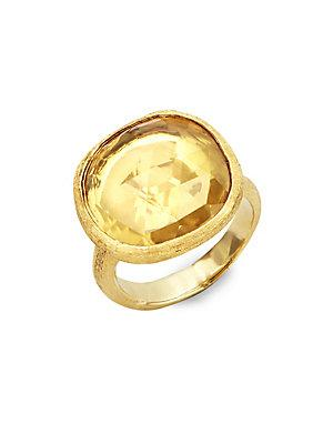 Marco Bicego Jaipur Lemon Citrine & 18k Yellow Gold Ring