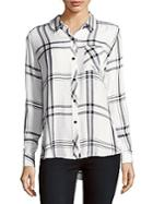 Rails Hunter Spread Collar Plaid Shirt