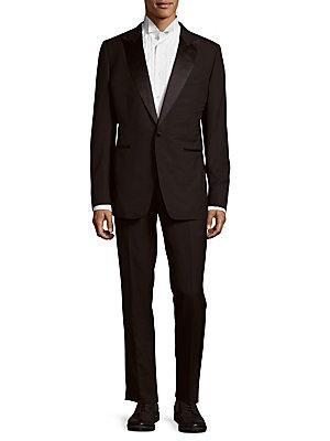 Tom Ford Plain Wool Tuxedo
