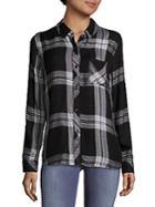 Rails Hunter Point-collar Plaid Shirt