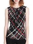 Calvin Klein Printed Roundneck Top