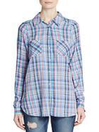 Joie Aidan Plaid Shirt