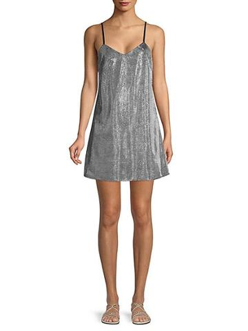 Renvy Shine Cami Mini Dress