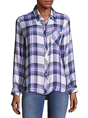 Rails Hunter Patterned Button-down Shirt