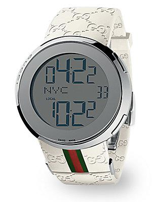 I-gucci Collection White Digital Watch