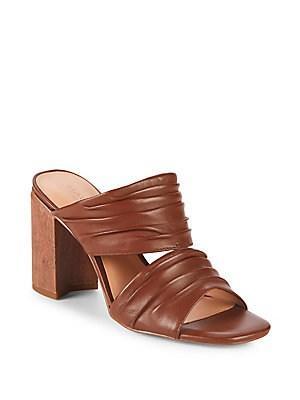 Halston Heritage Kiera Leather Sandals