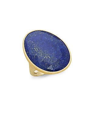 Marco Bicego 18k Yellow Gold & Lapis Cocktail Ring