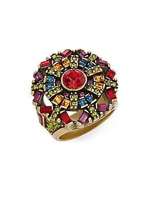 Heidi Daus Snow Crystal Swarovski Crystal Ring