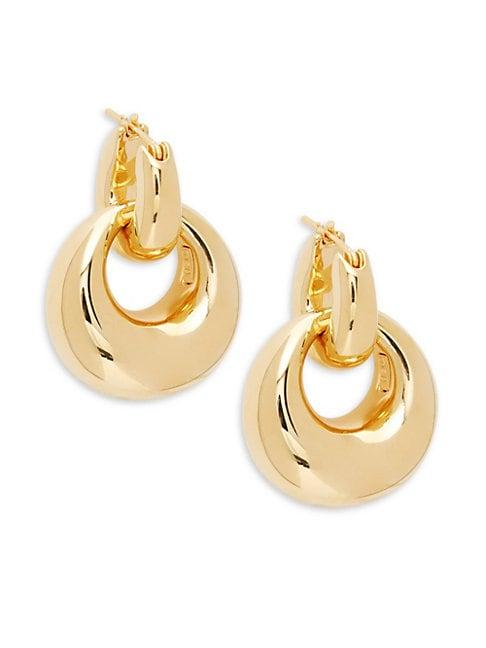 Sphera Milano 14k Yellow Gold Drop Earrings
