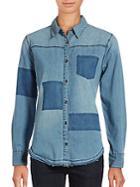 Joe's Kristina Cotton Denim Shirt