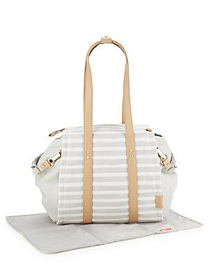 Skip Hop Highline Stripe Diaper Bag
