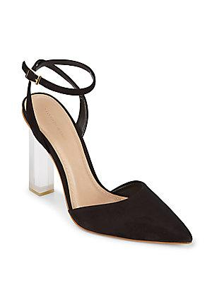 Saks Fifth Avenue Pump Desert Leather Pumps