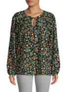 Bcbgeneration Floral Roundneck Top