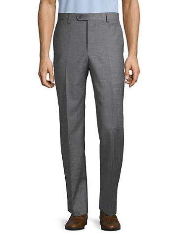 Saks Fifth Avenue Flat-front Wool