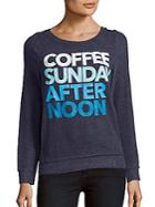 Chaser Printed Long Sleeve Pullover