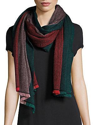 Bajra Colorblock Wool Scarf