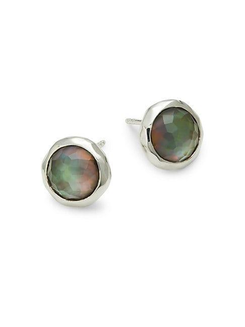 Ippolita Quartz Sterling Silver Lollipop Stud Earrings