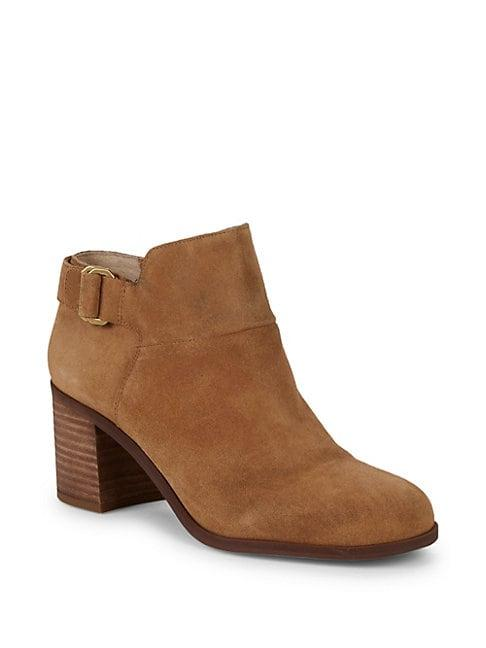 Sarto By Franco Sarto Matisse Suede Ankle Boots