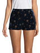 Valentino Metallic Printed Shorts