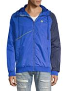 Cult Of Individuality Colorblock Hooded Jacket