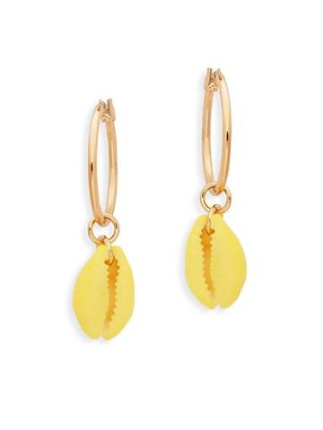 Ava & Aiden Hanging Shell Drop Earrings