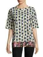 Marni Cotton Printed Tee