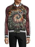 Valentino Multicolored Embroidered Bomber Jacket