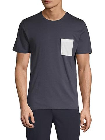 Pure Navy Classic Pocket Tee