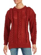 Somedays Lovin Cable Knit Roundneck Sweater