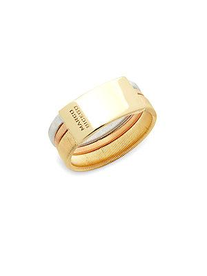 Marco Bicego Goa 18k Gold Band Ring