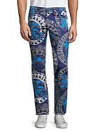 Versace Jeans Floral-print Jeans