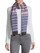Missoni Stripe Knitted Scarf