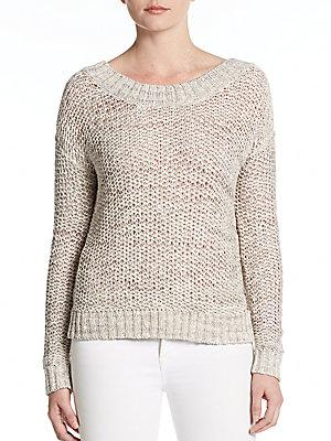 360 Sweater Quinn Low Back Sweater