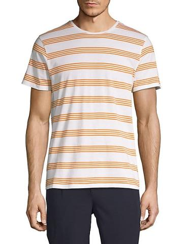 Pure Navy Striped Short-sleeve Tee