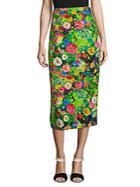 Rosie Assoulin Floral Pencil Skirt