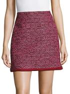 Raoul Woven Pattern Skirt